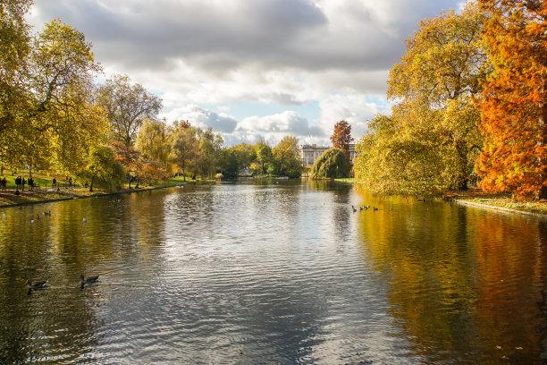湖,秋天,凯欣豪园