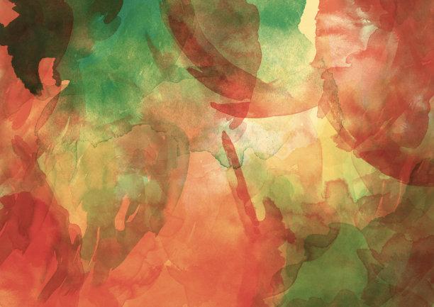 抽象水彩背景图像