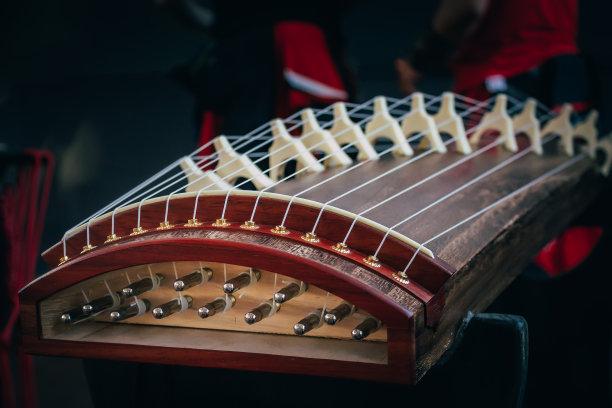 伽倻琴音乐弦乐器