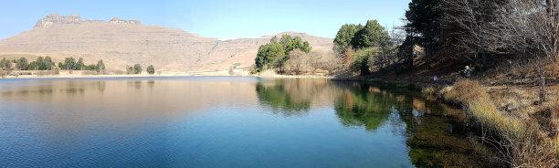 冬天,南非,湖