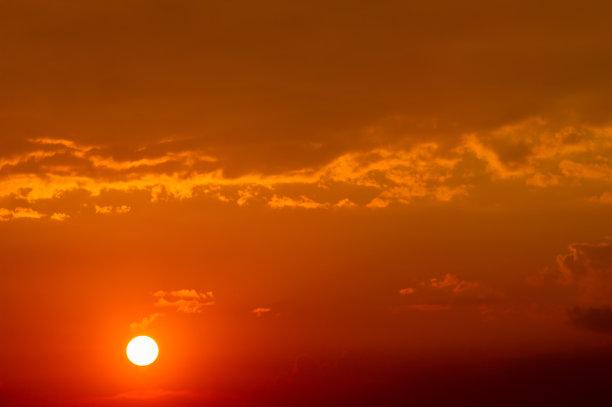 云,天空,美