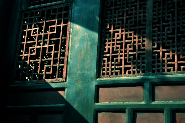 成都传统木窗