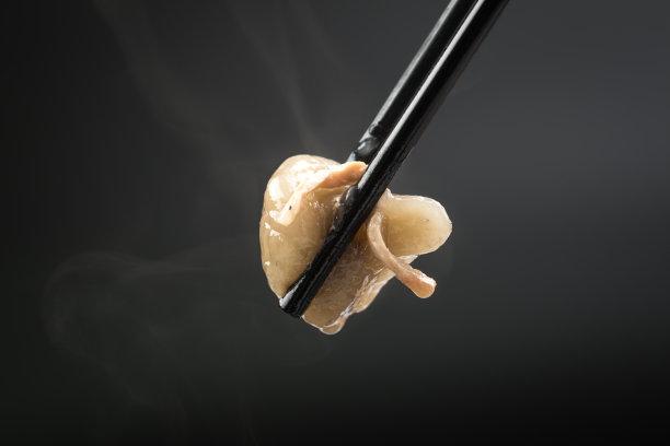 蘑菇饺子图片