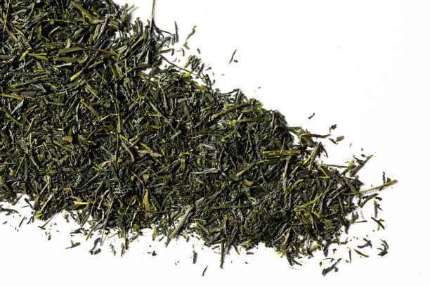绿色的煎茶