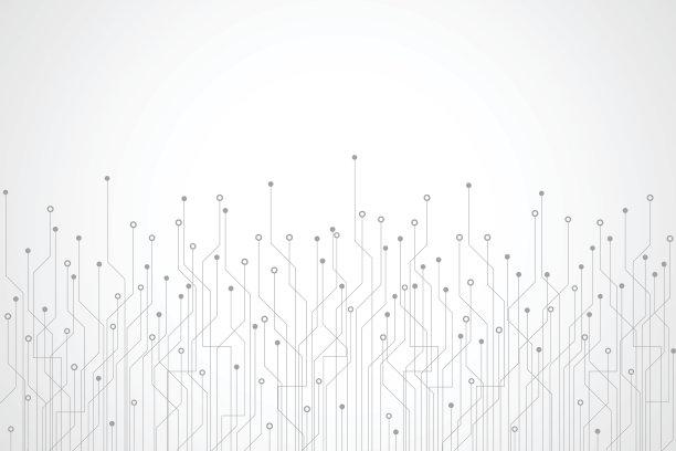 技术背景抽象