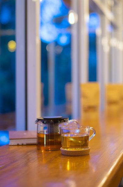 中国茶热黄昏