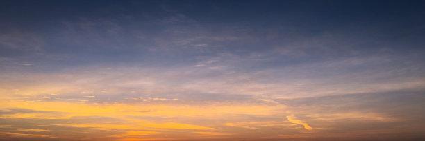 天空,云,蓝色