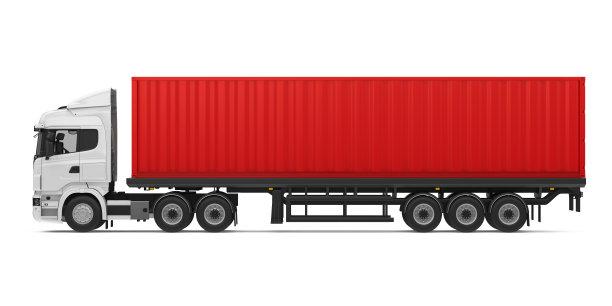 货物集装箱厢式货车重的