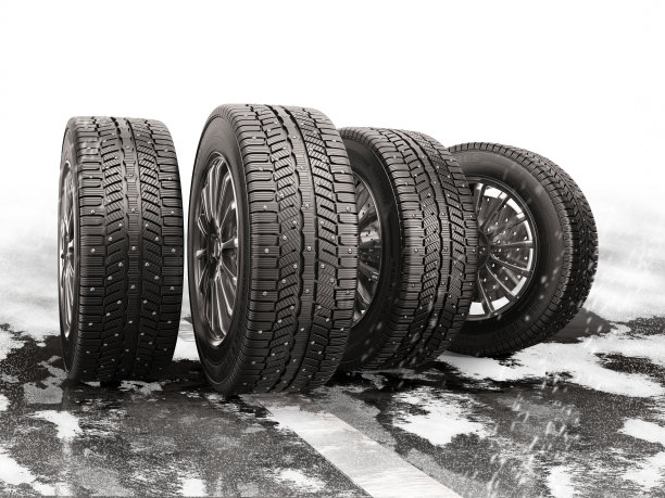 车轮雪路防滑