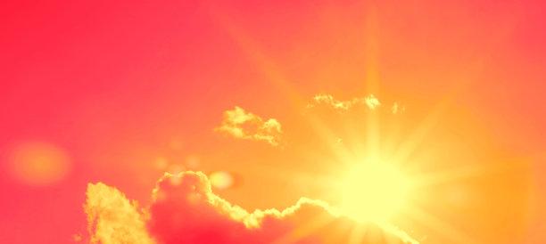 云,阳光光束,日光