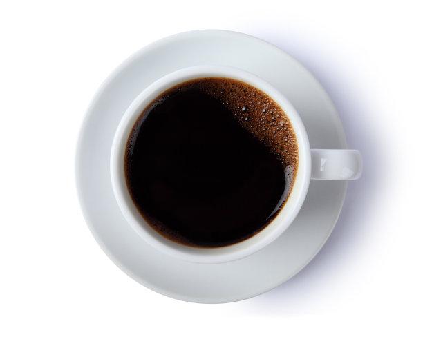 咖啡杯餐具褐色