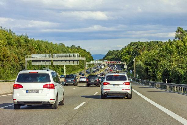 交通堵塞公路德国
