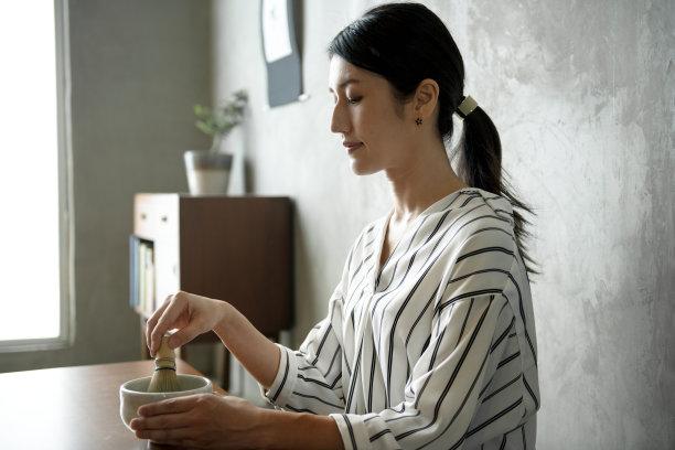 绿茶日本人典礼