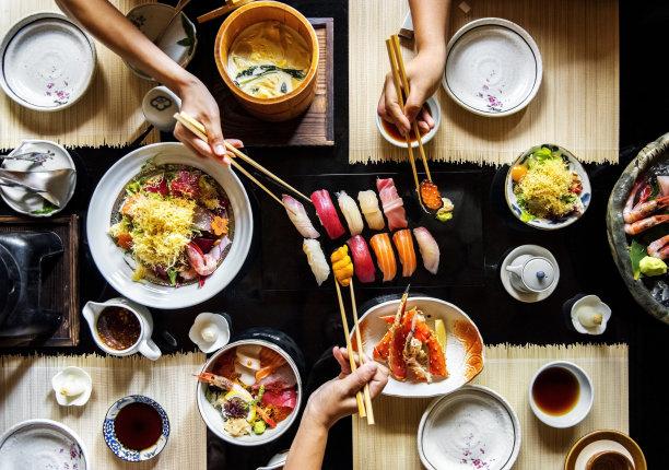 日本寿司美食