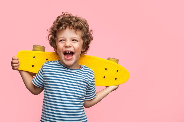 滑板男孩摄影