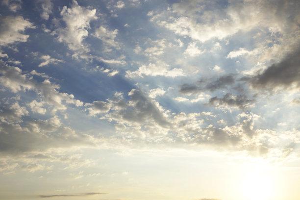 云景,黎明,土耳其