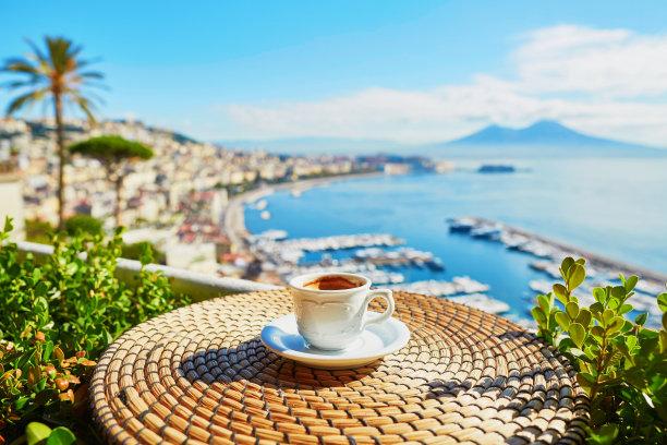 都市风景纳布勒斯咖啡杯