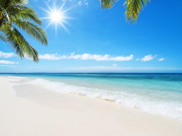 夏日沙滩摄影