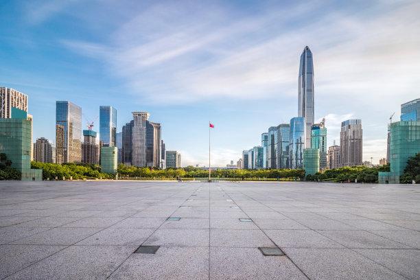 深圳城市天际线市区
