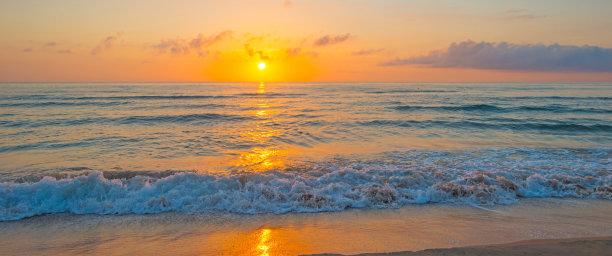 沙子,夏天,海滩