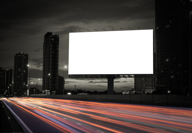 高速公路广告样机