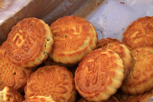 月饼传统特写