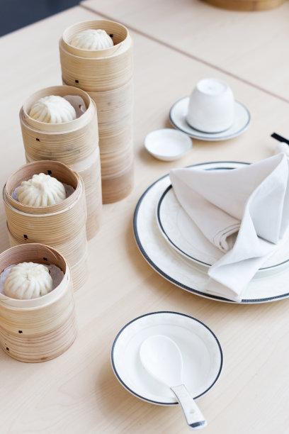 容器竹子食品