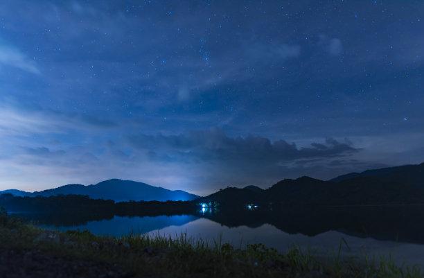夜晚天空摄影