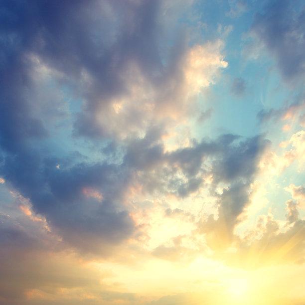天空,美,留白