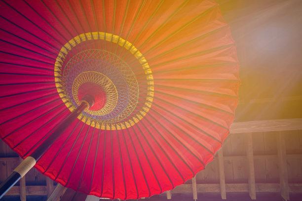 传统,日本,伞