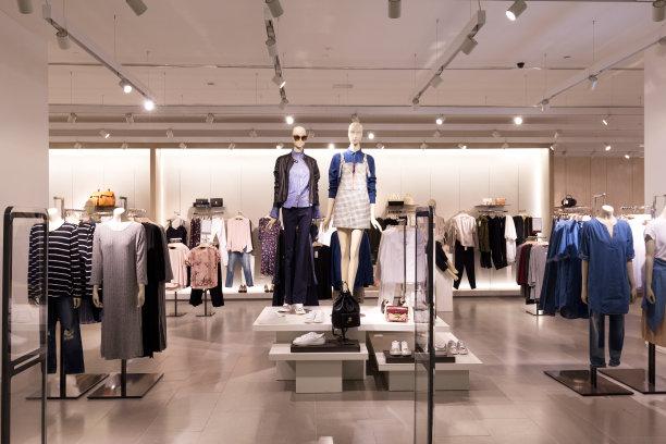 时尚服装店铺