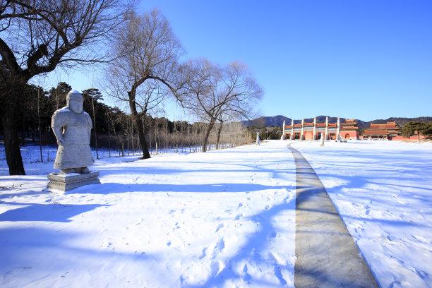 清东陵建筑业图片