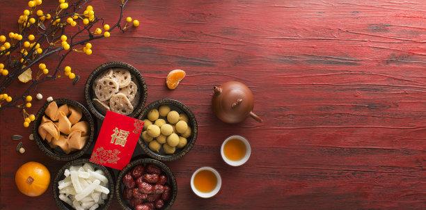 春节饮食图片