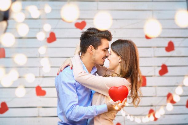 青年伴侣情人节