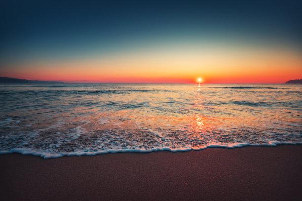 特写,海洋,波浪