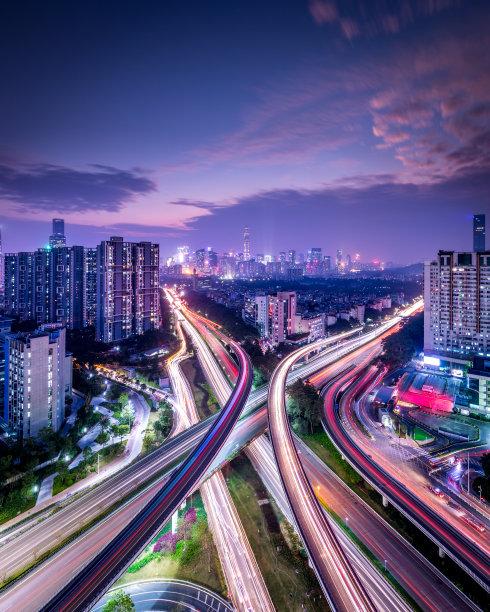 深圳摩天大楼垂直画幅