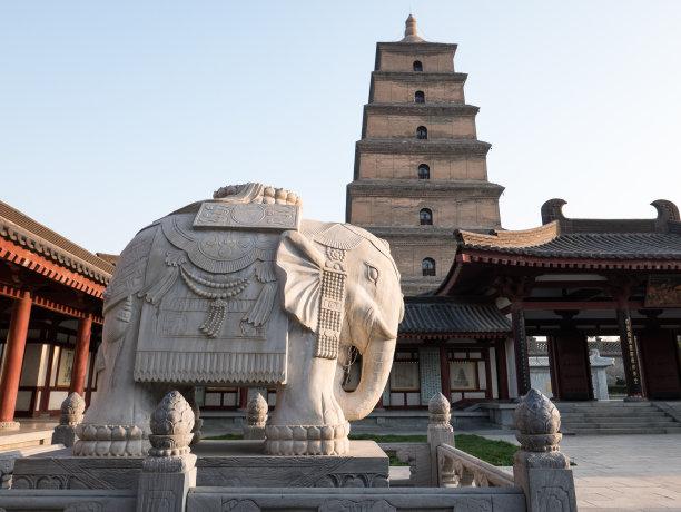 西安寺庙象