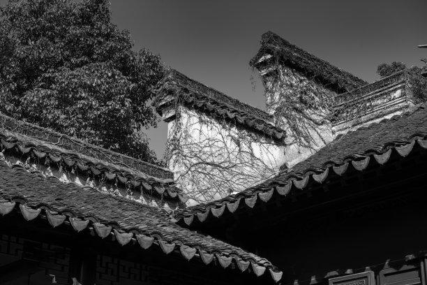 清朝屋顶灵性