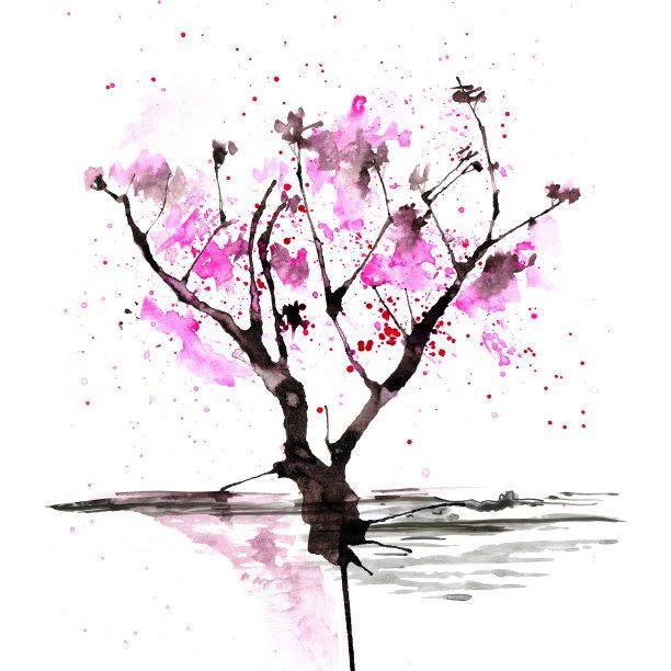 日本绘画插图时尚