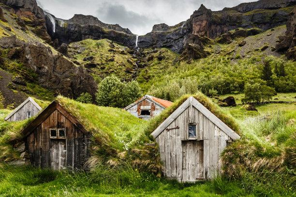 草冰岛国房屋