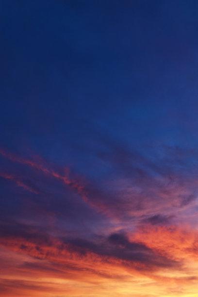垂直画幅,天空,云