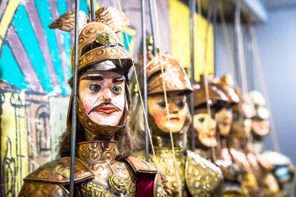 木偶传统讲故事