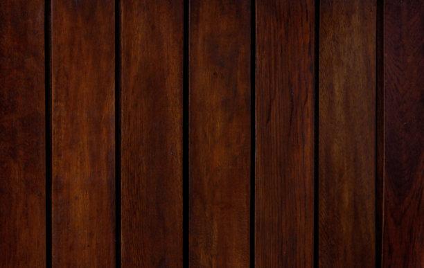 纹理效果厚木板桃花心木