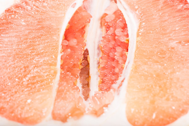 特写浆柚子