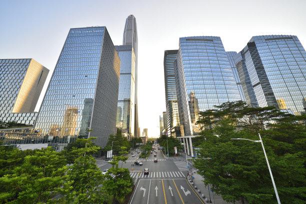 现代城市建筑外部