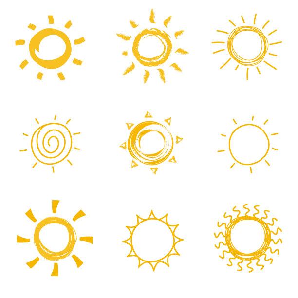 符号夏天热