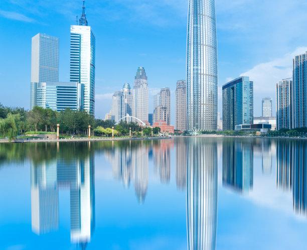 天津市城市天际线水