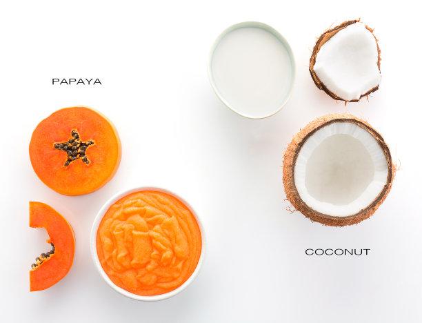 木瓜椰子清新