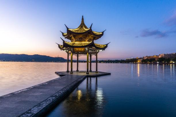 西湖集贤亭杭州