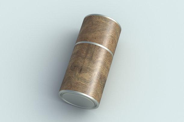 容器空白的圆柱体